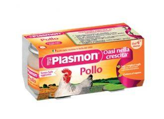 Plasmon Omog Pollo 120gx2pz