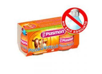 Plasmon Omog Vtl/pollo 80gx2pz