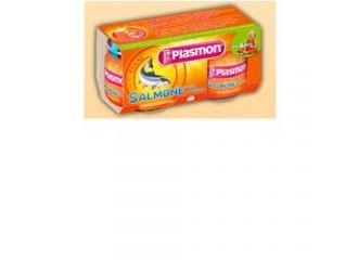 Plasmon Omog Salmo/verd 80gx2p