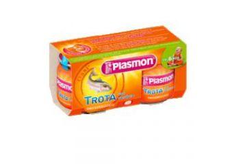 Plasmon Omog Trota/verd 80gx2p