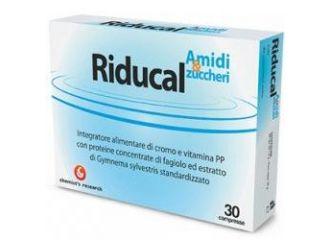 Riducal Amidi e Zuccheri Integratore Alimentare 30 compresse