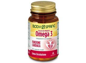 Body Spring Olio Omega3 50 capsule scadenza 31 marzo 2019