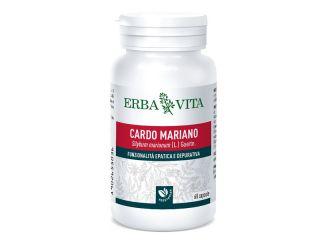 Erba Vita Cardo Mariano Integratore Alimentare 60 capsule 400mg