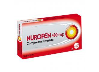 Nurofen 12 Compresse Rivestite da 400 Mg Pvc/al