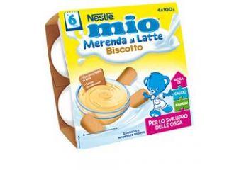 Nestle Mio Merenda Bisc 4x100g