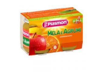 Plasmon Omog Mela/agrumi2x104g