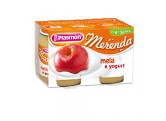 Plasmon Omog Yog/mela 120gx2pz