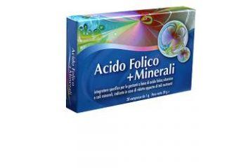 ACIDO FOLICO+MINERALI 20 Cps