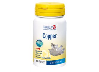 LONGLIFE COPPER 2mg 100 Cpr