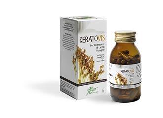 Aboca Keratovis Integratore Alimentare Capelli e Unghie 100 opercoli