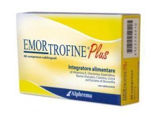 Emortrofine Plus 40cpr