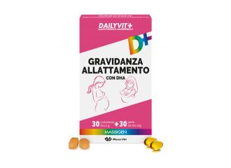 Massigen Dailyvit Gravidanza e allattamento 30 compresse+30 perle