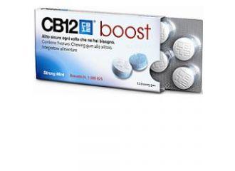 CB12 Boost 10 Chewing Gum Senza Zucchero. Gusto Menta