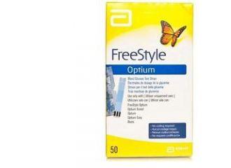 Freestyle Optium  Strisce reattive 25 pezzi