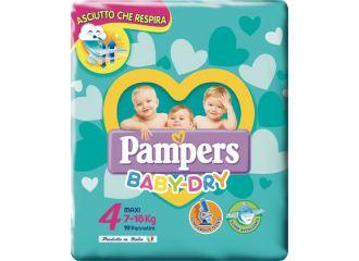 Pampers Baby Maxi Taglia 4 (7-18 kg) 19 pezzi