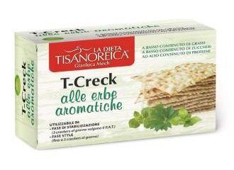 T-CRECK Crackers Erbe Ar.100g