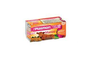 Plasmon Omog Manzo C/gift 80x4