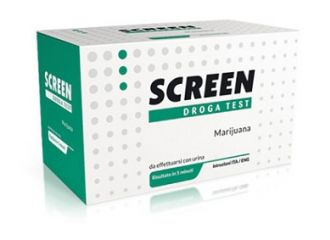 SCREEN DROGA TEST MARIJUANA