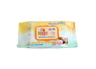 Salviettine Baby Camomilla 72 pezzi