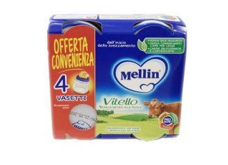 Mellin Omogeneizzato Vitello 4x80g