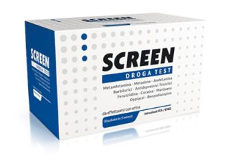 SCREEN DROGA TEST URINA 10