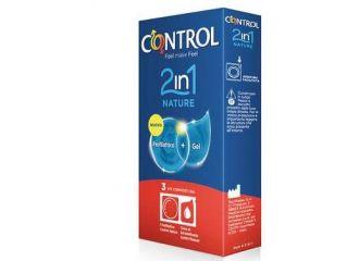 CONTROL*2in1 Nature+Lube 3pz