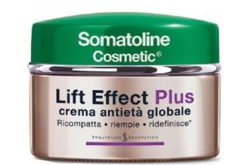 Somatoline Cosmetic Lift Effect Plus per Pelle Secca Crema Viso Antietà 50ml