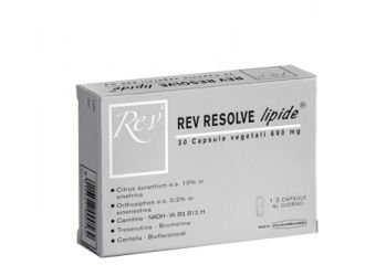 REV Resolve Lipide 30 Cps