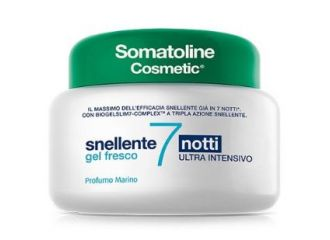 Somatoline Crema  Snellente  7 Notti Gel ultra fresco 400ml