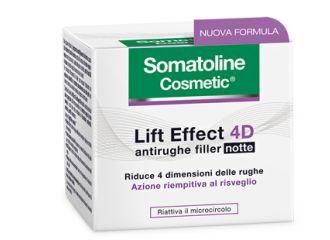 Somatoline Cosmetic Lift Effect 4D Notte Crema Antirughe 50 ml