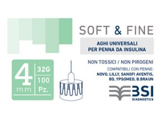 SOFT&FINE Ago Ins.32g 4mm100pz
