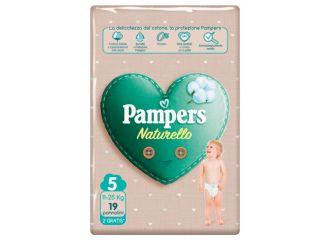 PAMPERS NATUR.5(11-25Kg)17+2pz