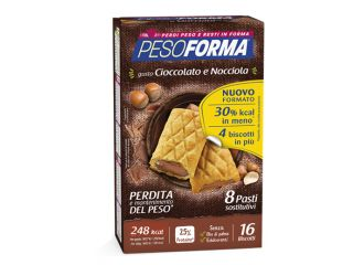 PESOFORMA Bisc.Ciocc/Nocc.528g