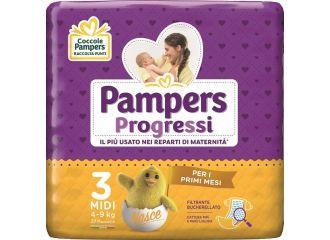PAMPERS PROG.N/Baby 4-9 27pz3
