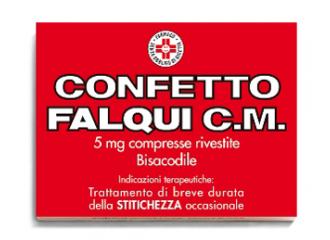 Confetto Falqui Cm*20cpr 5mg