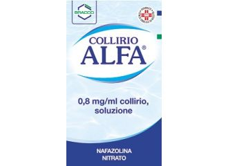 Collirio Alfa gocce 10 ML 0,8MG/ML