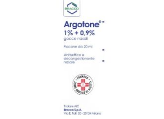 Argotone  Gocce Nasali Rino Flacone 20ml