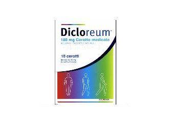 Dicloreum  10 cerotti antinfiammatori medicati 180 mg