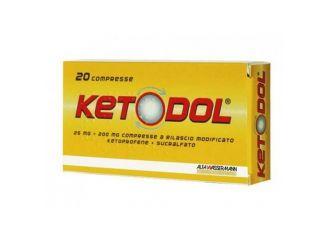 Ketodol 20 Compresse 25Mg