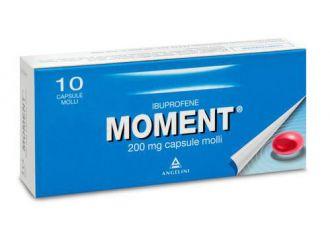 Moment 10 Capsule Molli da 200 Mg