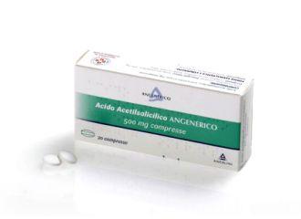 ACIDO Acetils.500mg 20 CprANG.