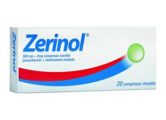 Zerinol 20 Compresse Rivestite Da 300 Mg +2mg