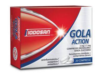 Gola Action*20cpr Oros 3mg+1mg