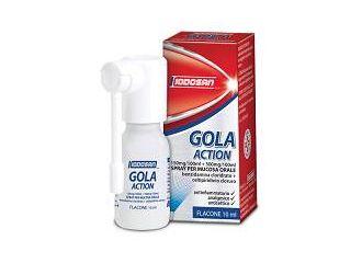 Iodosan Gola Action Spray Orale 10ml