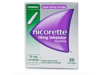 Nicorette Inhaler 20 Flaconcini Monodose da 15mg