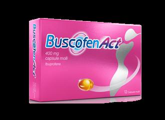 Buscofenact 12 Capsule Molli 400mg