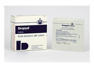 Dropyal*coll 20monodosi 0,65ml
