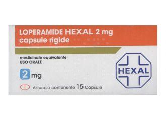 LOPERAMIDE 2mg 15 Cps HEXAL