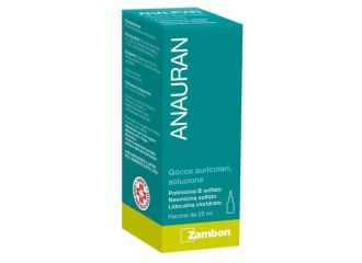 Anauran Gocce Auricolari Flaconcino 25 ml