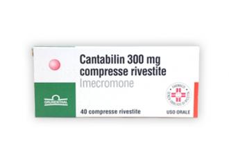 Cantabilin 40 compresse Riv 300mg